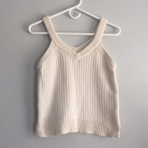 Madewell sweater tank!